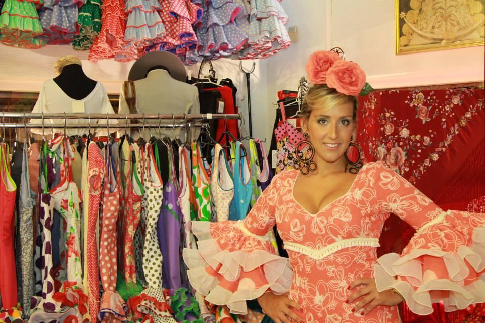 Como hacer recogido alto para vestirse de flamenca nº 3