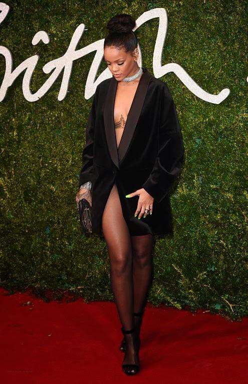 Como hacer el Peinado de  Rihanna en British Fashion Awards 2014