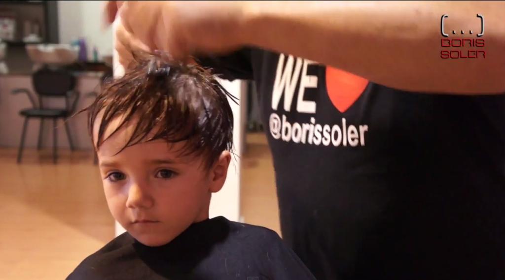Como cortar el pelo a un niño de 3 Años