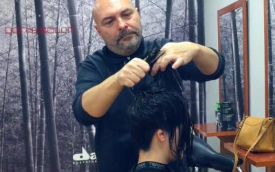 Como cortar un cabello corto con Navaja