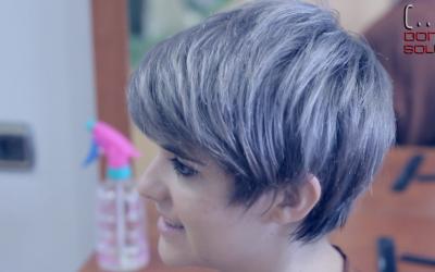 Como Cortar un pelo corto asimetrico con Navaja