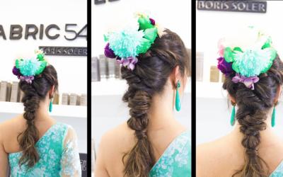 Como hacer un peinado de flamenca para la FERIA DE ABRIL 2018 SEVILLA