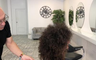 Como hacer un moldeador muy rizado – Afro