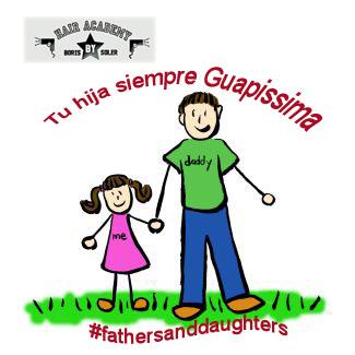 Preparando #FathersAndDaughters para Enero